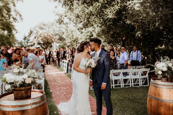 Intimate Wedding at Grace Vineyards in Galt CA-28