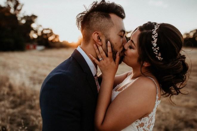 Intimate Wedding at Grace Vineyards in Galt CA-66