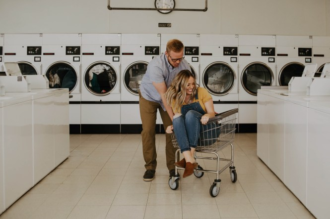 Laundromat Engagement-10