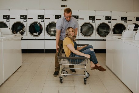 Laundromat Engagement-11