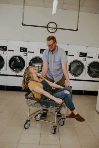 Laundromat Engagement-12