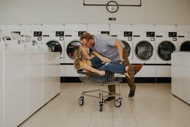 Laundromat Engagement-14