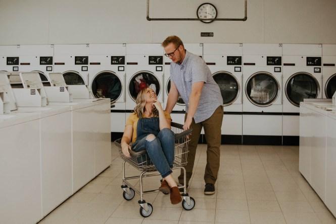 Laundromat Engagement-9