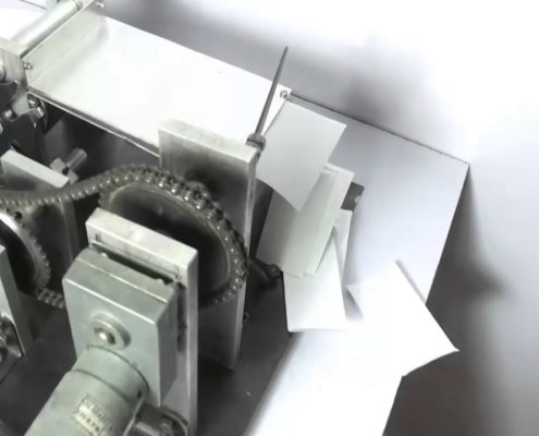 Paper Cutter Using Geneva Mechanism
