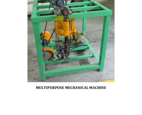 Multi Purpose Mechanical Machine