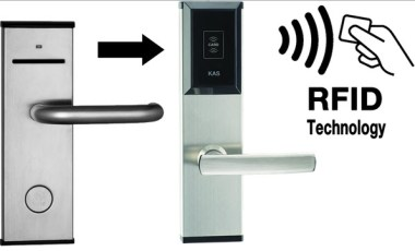 DOOR LOCK SECURITY SYSTEM USING RF TECHNOLOGY