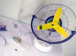 Remote Control Based DC Fan Speed Controller