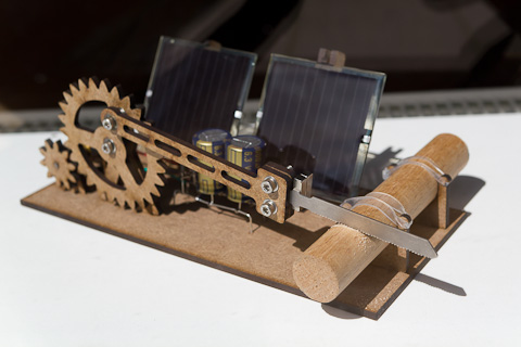 SOLAR POWER HACKSAW