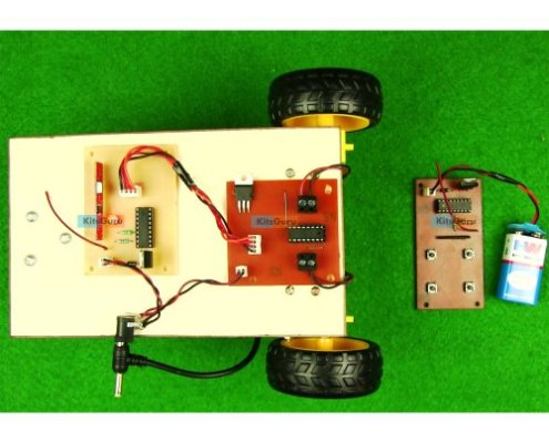 Automatic RF-based Land Rover