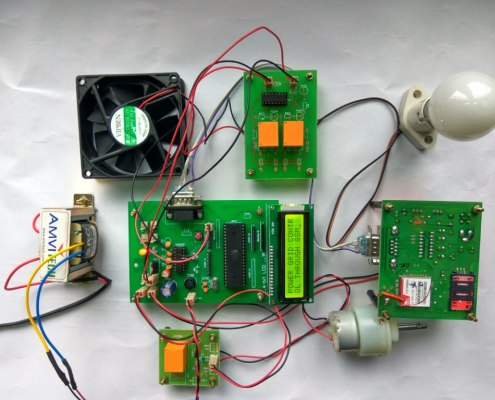 Wireless Automatic Power Grid Controller