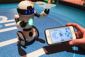 Smart Phone based Robot Control