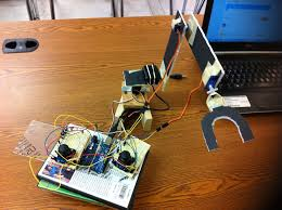 Pick and Place Robot using Computer Interfacing
