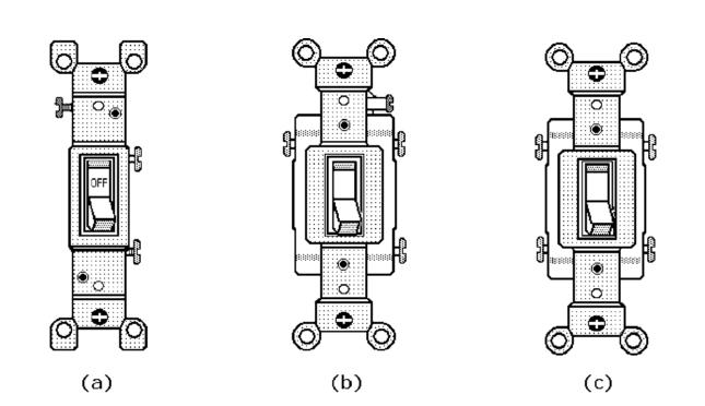 Double Rocker Wall Switch Wiring Diagrams