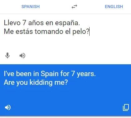 Google Translate te puede enseñar traducciones indirectas