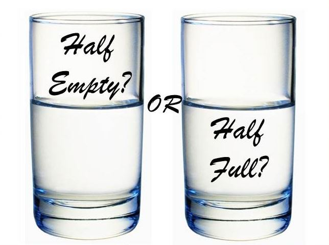 Ravikallianpur - The glass half empty half full question