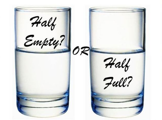 Ravikallianpur - The glass half empty half full question