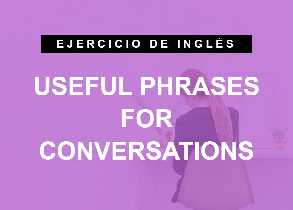 ¿Puedes traducir estas frases al inglés? Oraciones útiles para conversaciones (A2 Elementary)