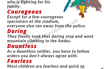 Different ways to say BRAVE