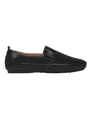 Leather Slip On Shoes Womens