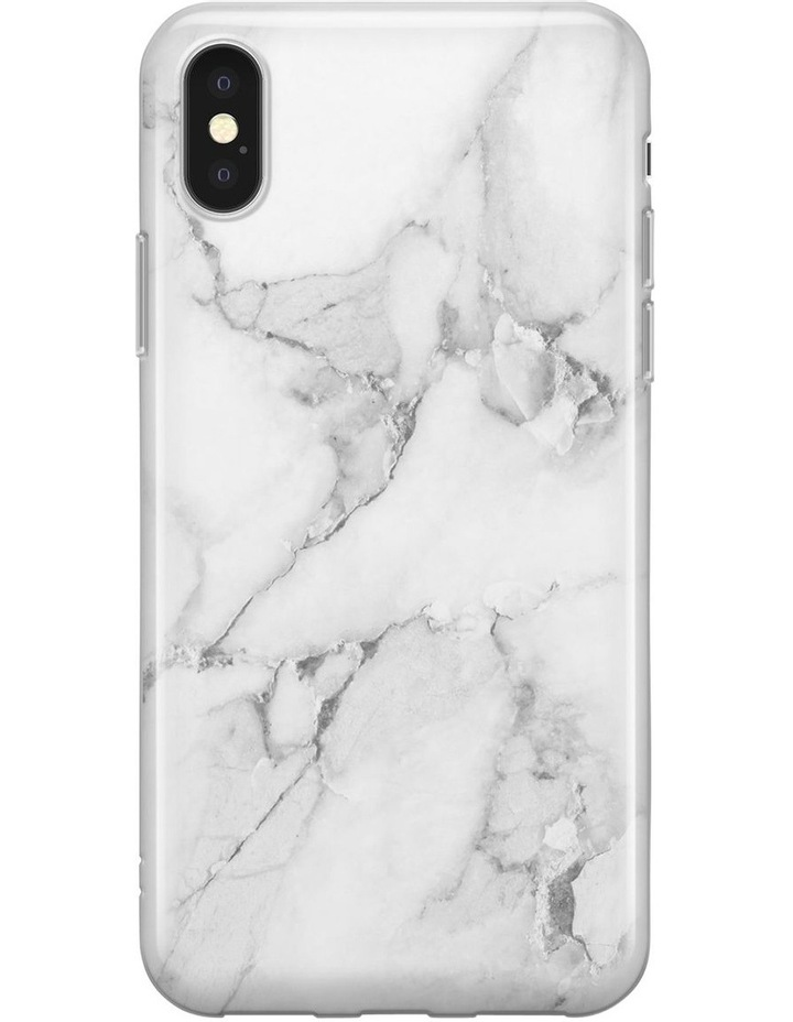 Recover iPhone XR White Marble Case