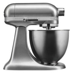 Kitchen Mixer Cabinet Finishes Mixers Myer Kitchenaidksm3311 Artisan Mini Stand Contour Silver 5ksm3311xacu Kitchenaid Ksm3311