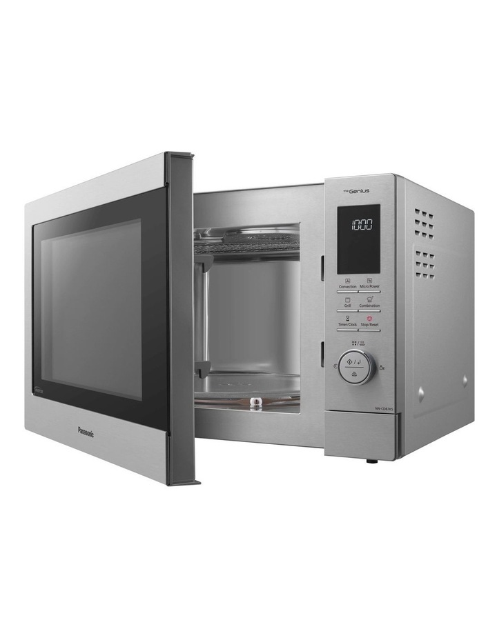 panasonic 34l convection microwave oven stainless steel nn cd87ksqpq