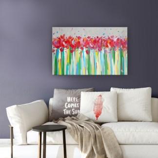 Картина «Внутренняя радость» в интерьере