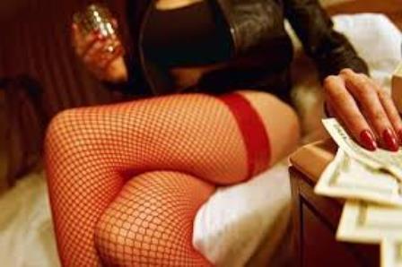 Prostituierte im Bordell