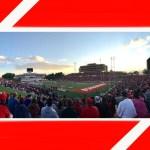UNM Lobo Football In Albuquerque NM