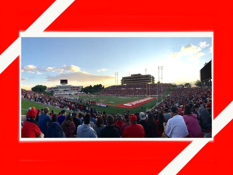 UNM Lobo Football In Albuquerque NM