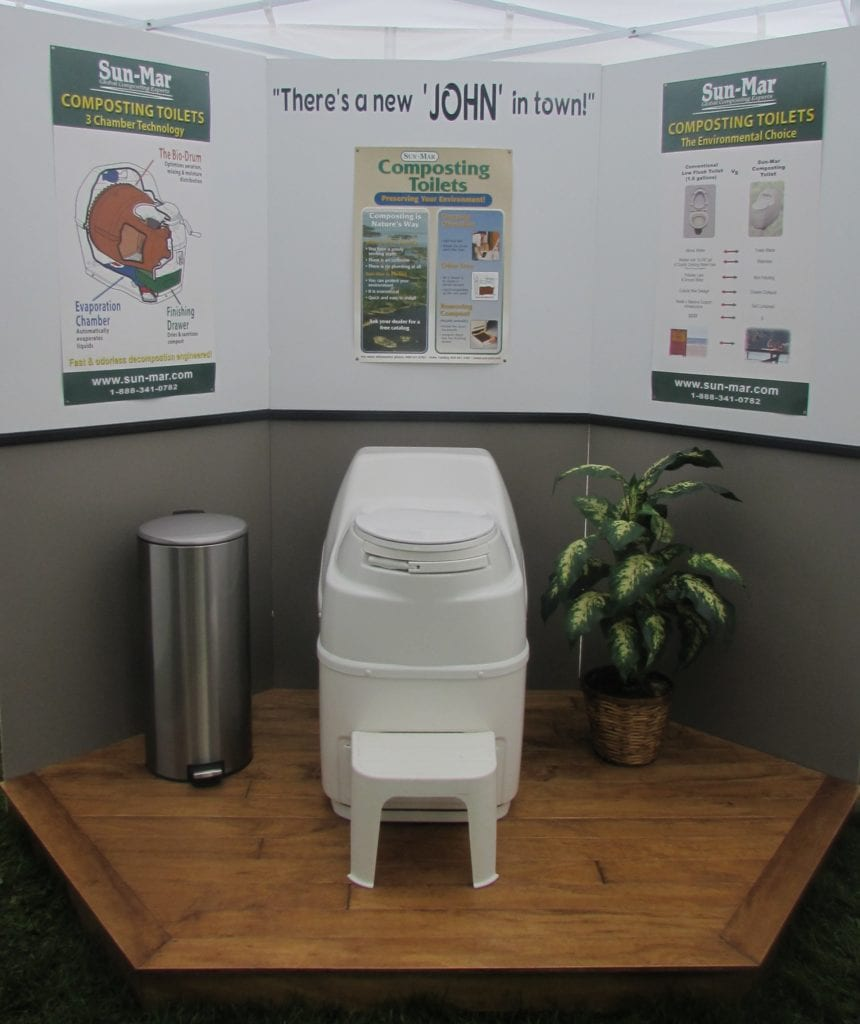 Reisterstown Md Bank Barn With Garage: Composting Toilets