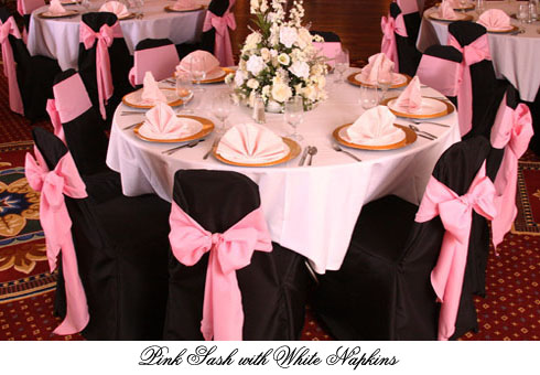 chair covers pink the most comfortable diamond ballroom black chocolate brown white shades of sashes linen