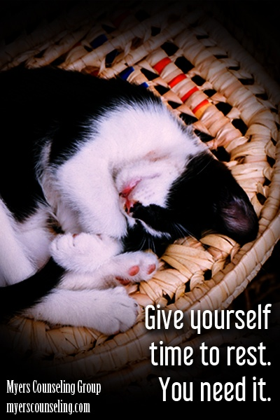 Inspirational Quote of the Day: Rest