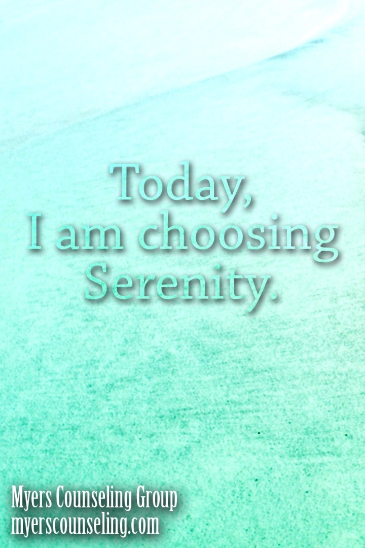 Inspirational Quote of the Day: Serenity