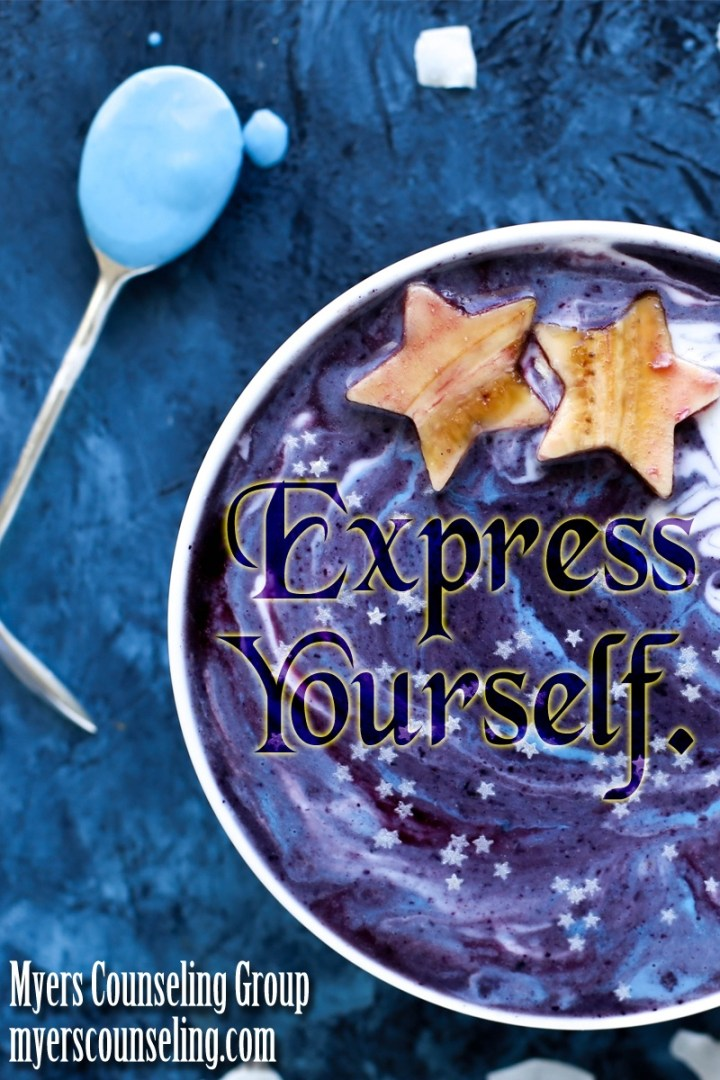 Inspirational Quote of the Day: Express Yourself