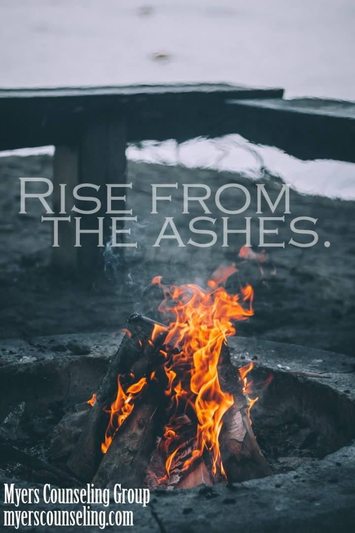 Inspirational Quote of the Day: Ashes