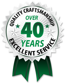Seal over 40 Years in Business Myers Custom Homes