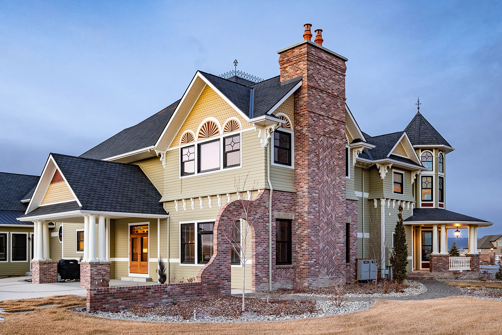 Vintage Home Construction Myers Custom Homes in Billings