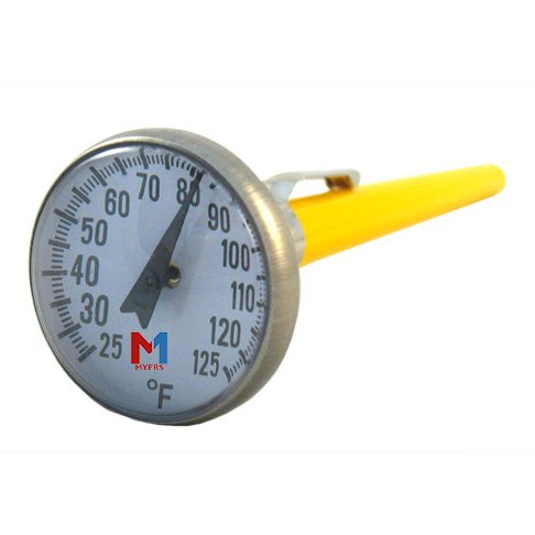 Dial Face Concrete Thermometer