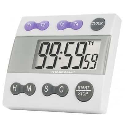 four channel alarm timer