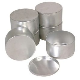 Round Sample Tins