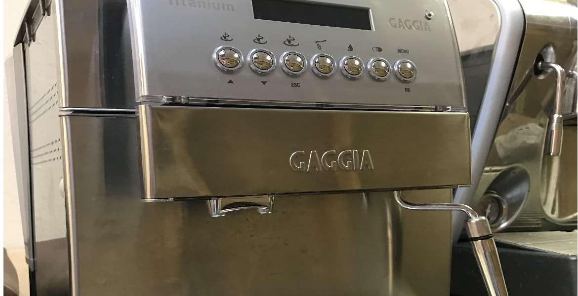 Repaired Gaggia Titanium Super-Automatic Espresso Machine