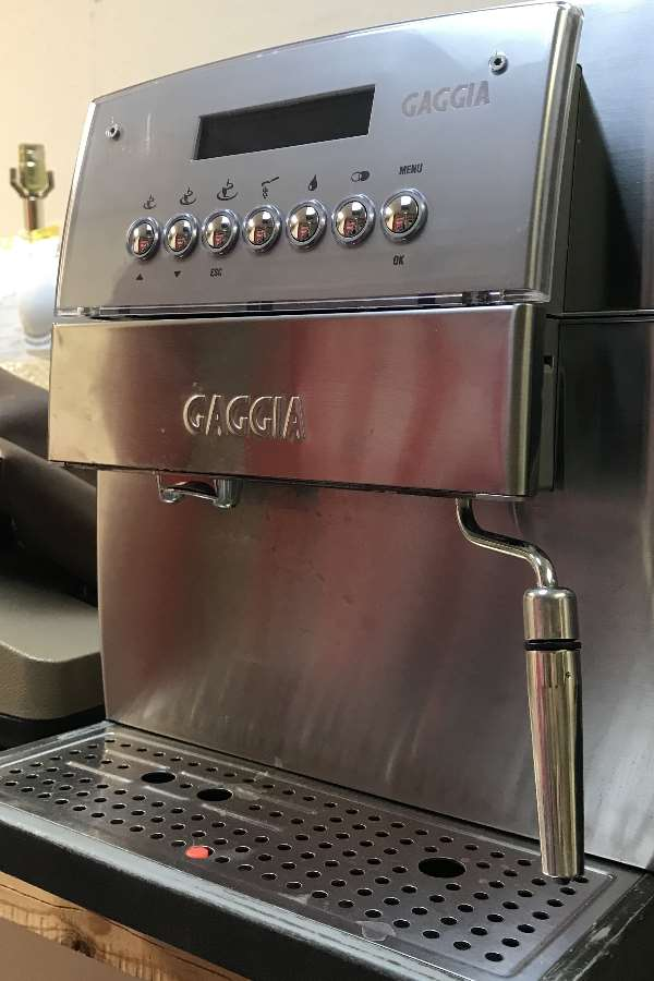 Gaggia Esspresso Machine Repair
