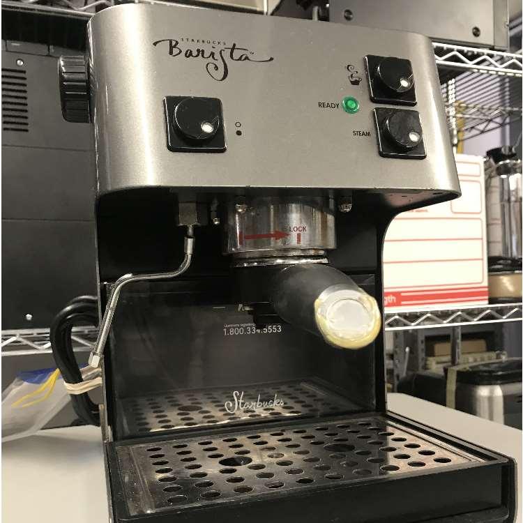 saeco starbucks barista espresso machine