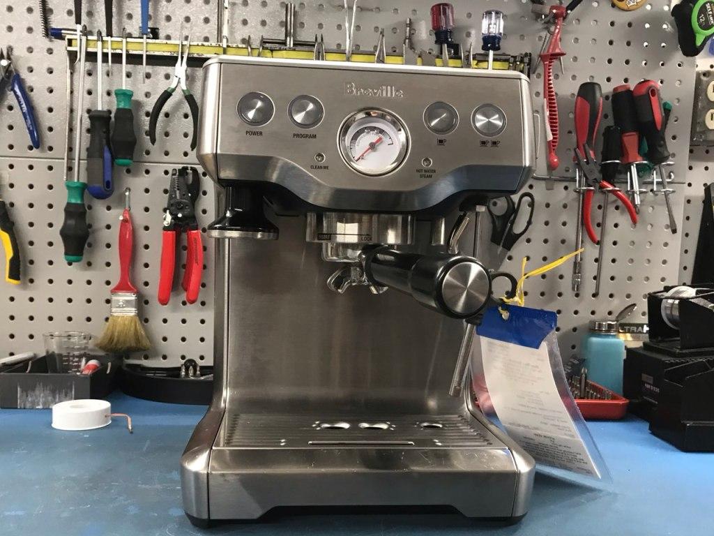 Breville espresso machine before repair