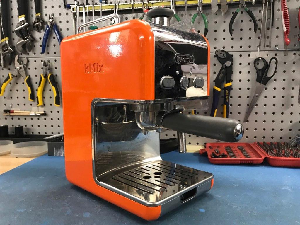 DeLonghi espresso machine before repair