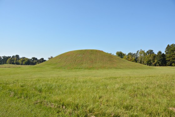 Caddo Mounds Burial Mound