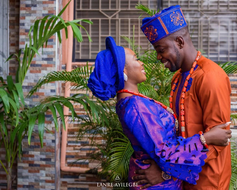 Oluwadamilola and Olubode Traditional Wedding