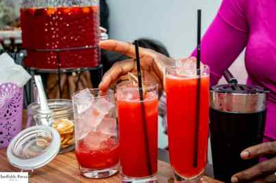 Drinks for corporate event