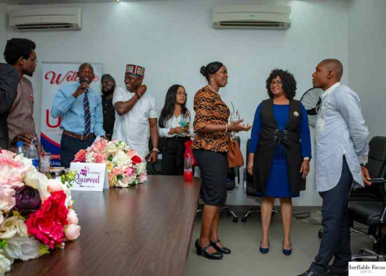 Luncheon for corporate event in Nigeria